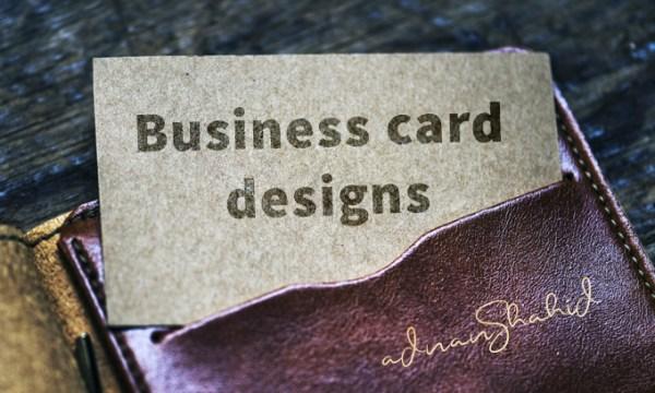Adnan Design Business cards