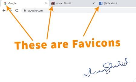 These are favicon