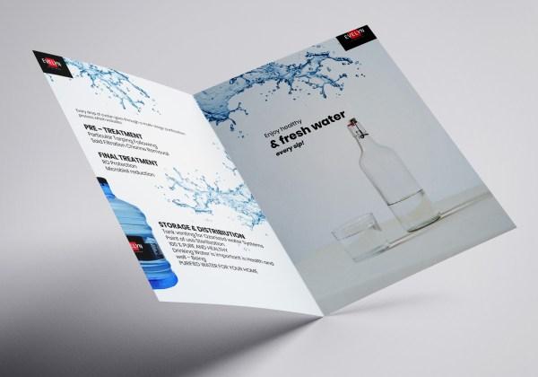 Open pamphlets 3d side