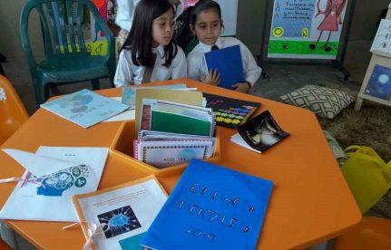 Los más pequeños tuvieron una activa participación en la Feria del libro y la Cultura 2019.