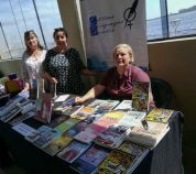 Varios e interesantes libros estuvieron en exposición durante el evento.