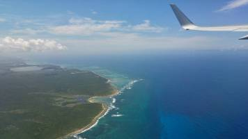 Flying out of Punta Cana