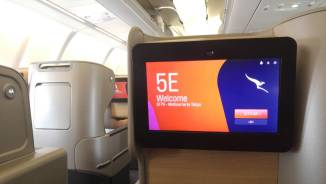 Business Class screen