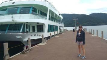 Linnie Lake Ashie boat