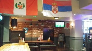 World Cup Final pub