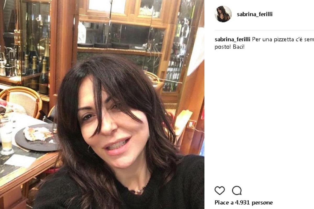 Sabrina Ferilli acqua e sapone