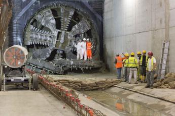 Milano, 'talpa Stefania' raggiunge la stazione Argonne della M4 e completa la sua prima galleria