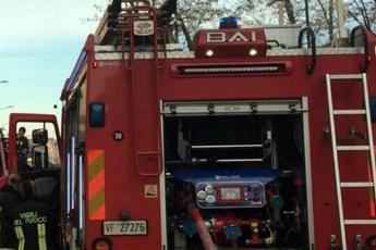 Brescia, incendio in appartamento: 78enne muore carbonizzato