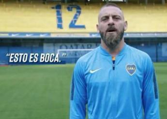 De Rossi in gol al debutto col Boca