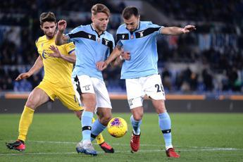 Lazio-Verona 0-0, i pali fermano i biancocelesti