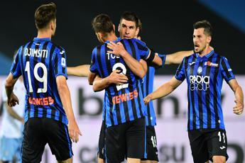 Atalanta super, tris in rimonta. Lazio ko e Juve scappa