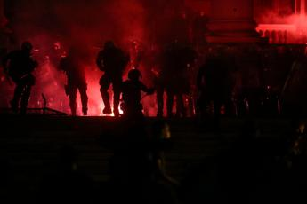 Dozens of arrests in Belgrade, injured and reporters attacked