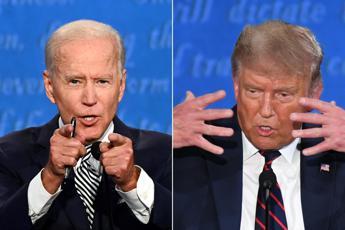 Trump-Biden, scambio di accuse su Covid