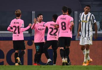 Champions, Juve-Barcellona 2-0: decidono Dembelè e Messi