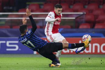 Ajax-Atalanta 0-1, nerazzurri agli ottavi di Champions