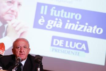 Covid, De Luca: Siamo già nella seconda ondata