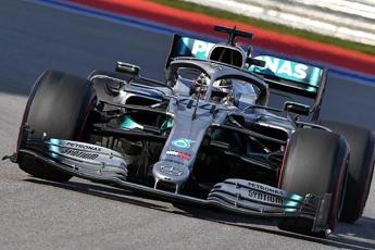 Gp Ungheria, dominio Hamilton e Ferrari doppiate