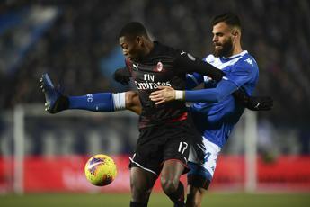 Calcio, vittoria del Milan a Brescia
