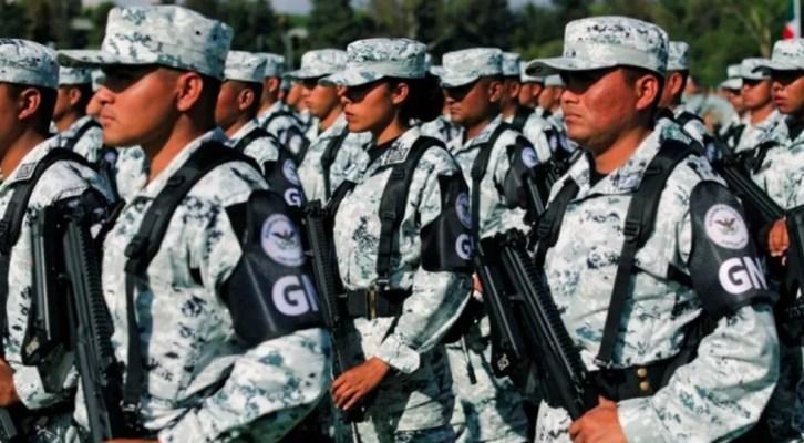 Guardia Nacional debutará en el desfile militar (17:00 h)