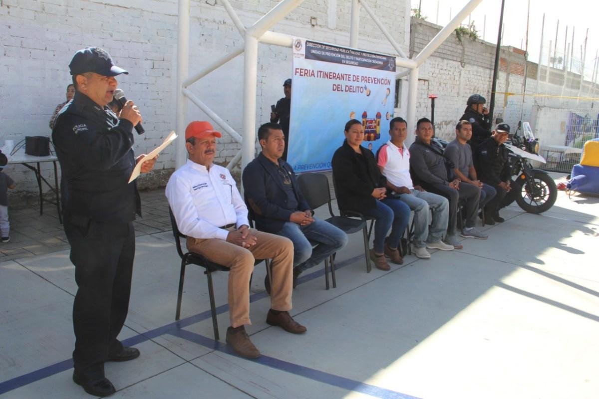 Recorre Feria de Prevención del Delito la agencia municipal de Pueblo Nuevo (14:30 h) - ADNl sureste