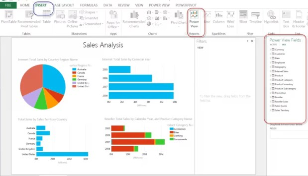 Excel PowerView