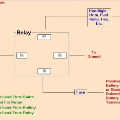 Universal Relay Wiring Diagram Pv Solar Panel