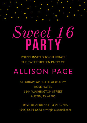 https www adobe com express create invitation sweet 16