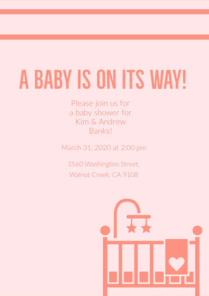 While everyone may be looking forward to the big day, there are plenty of other celebrations that shouldn't be forgotten, namely the bridal shower. Free Baby Shower Invitation Templates Adobe Spark