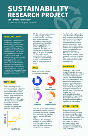 research poster templates adobe spark