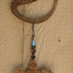 yard art, wind chime, mermaid