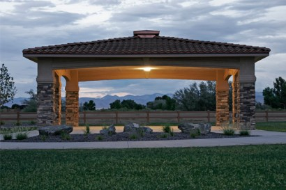 The Gazebo at Dusk
