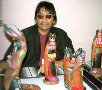 Tyrone Duwyenie Artist Adobe Gallery Santa Fe