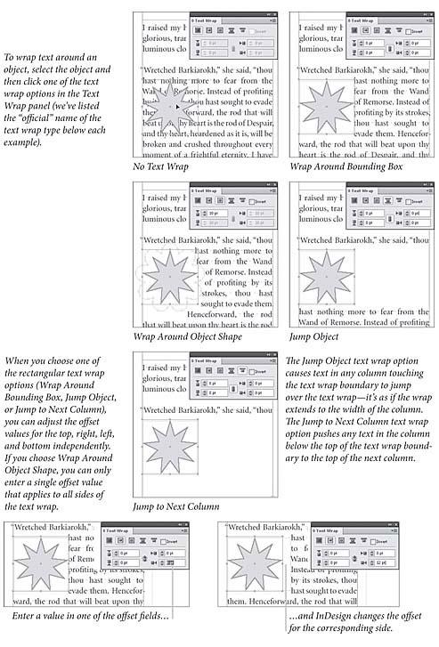 Real World Adobe InDesign CS4: Text Wrap > Text Wrap