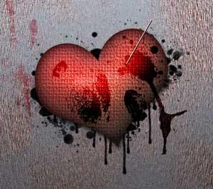 Create Love Wallpaper for the desktop in Photoshop CS3