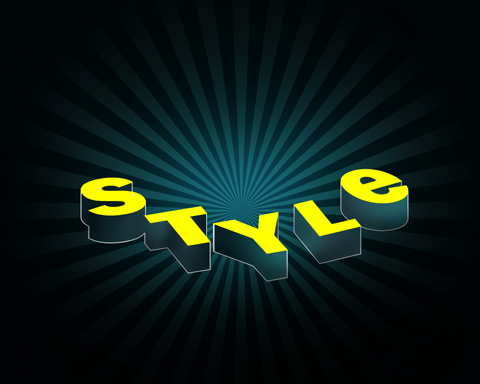 Create a Spectacular Style Text Effect in Photoshop CS3