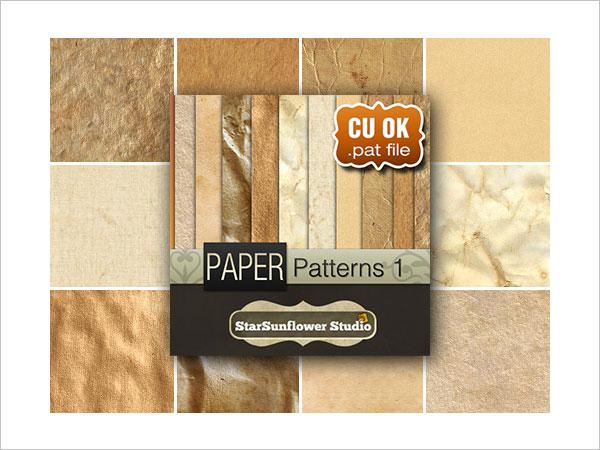 Free Photoshop Grunge Paper Patterns