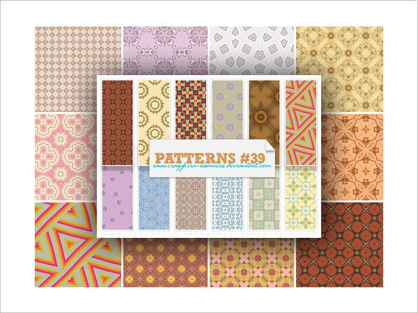 Patterns 39