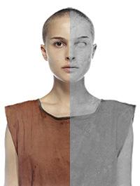 Natalie Portman'ı heykele çeviriyoruz!