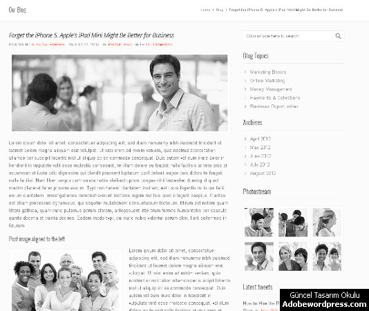 SmartBusiness WordPress Teması