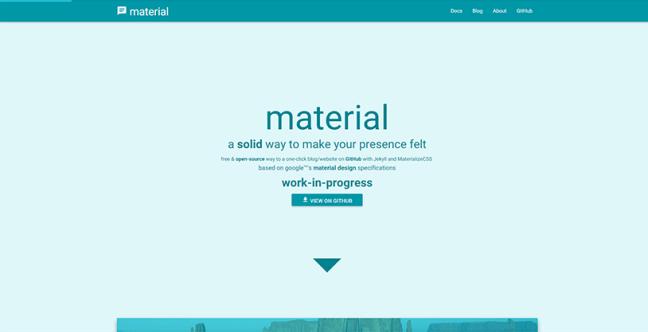 1-jekyll-material-design