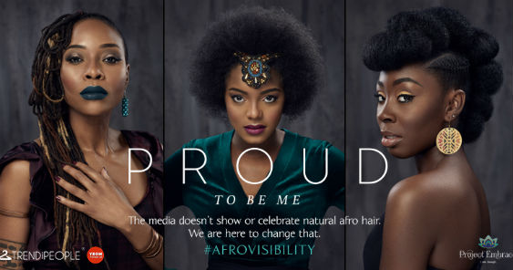 Campaign Spotlight: Project Embrace puts Afro hair on display in new #Afrovisibility billboard campaign by Quiet Storm