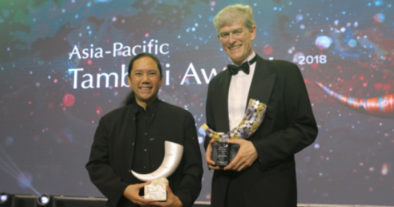 Nestlé's Paolo Mercado, John Miller Accorded Tambuli Awards