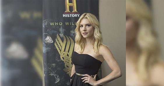 More badass than bombshell: Katheryn Winnick loves being a Viking