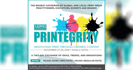 Print Congress 2018: An industry thriving on credible content