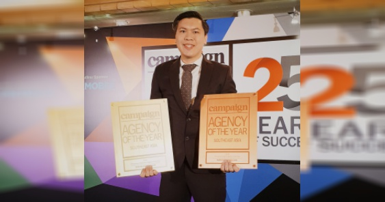 NUWORKS marks strong end to 2018; wins anew as Philippines Indie AOY and Philippines Digital AOY at 25th Campaign Asia Agency of the Year Awards