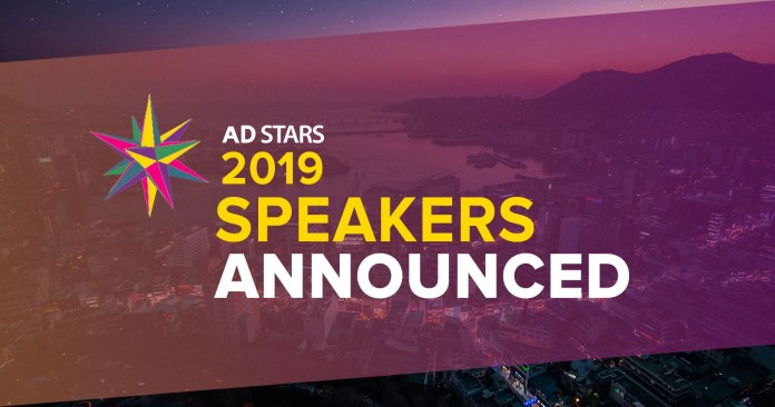 AD STARS 2019: First Speakers Revealed from MullenLowe, McCann, Nokia, Twitter, Huge, and more