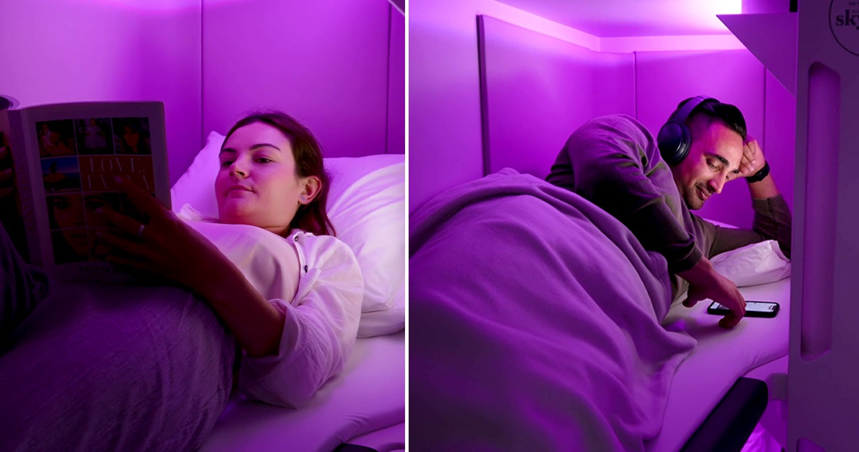 Design: Air New Zealand Reveals Ground-Breaking Sleep Pods ...