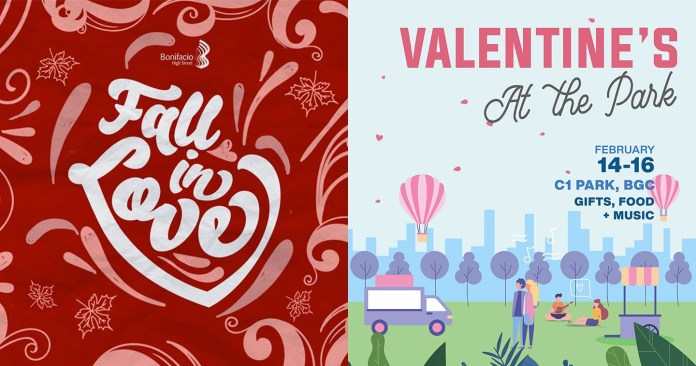 Events: BGC Goes All Out for The Nearing Valentine's Season with Special Installations, Romantic Concerts and Gifts for Loved Ones