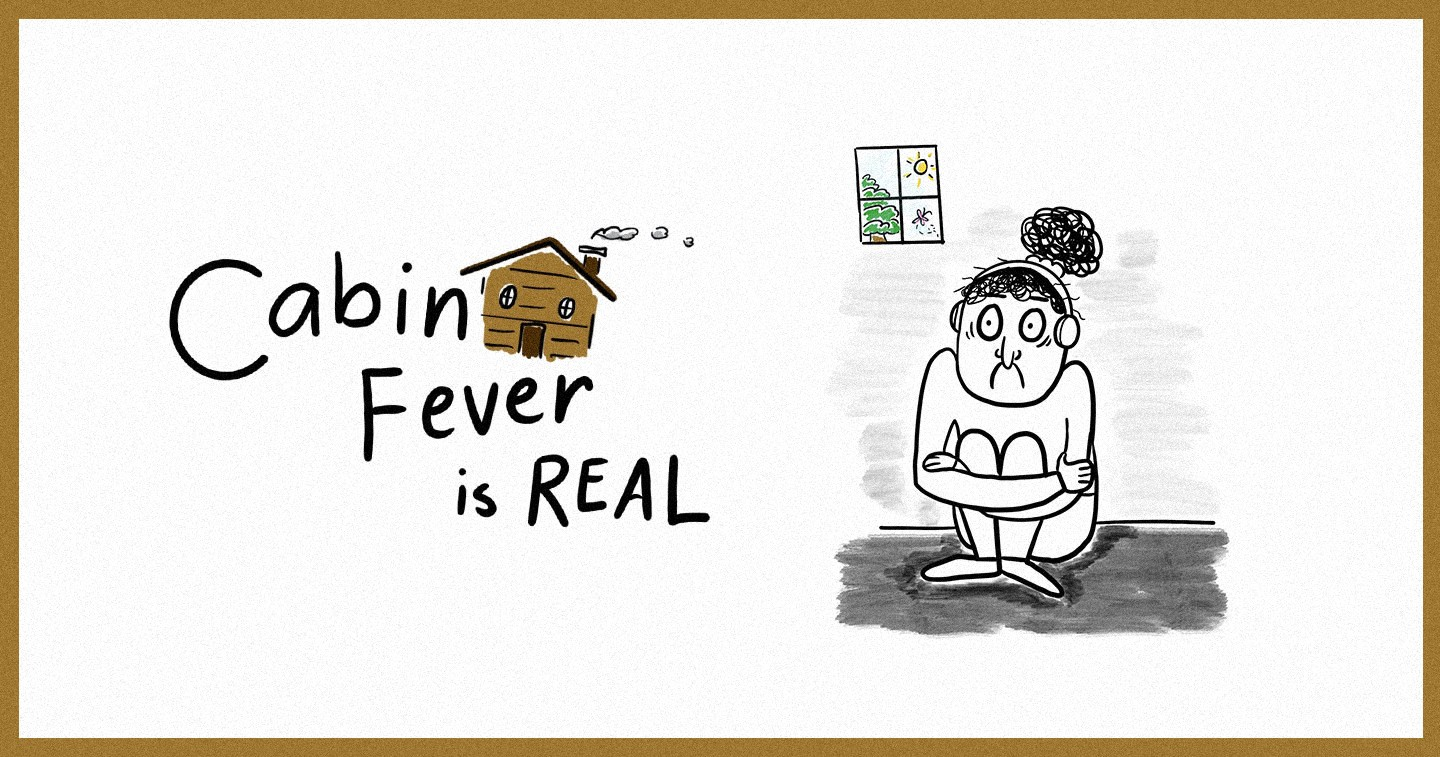 Design Ten Tips On How To Cope With Cabin Fever During Community Quarantine With Cara Alegre S Story Like Illustrations Adobo Magazine Online