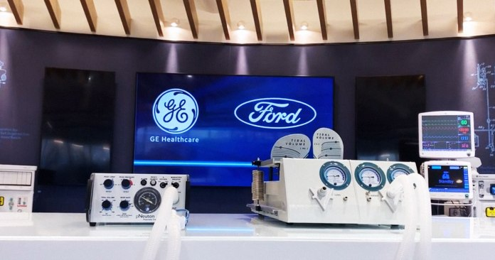 Brand & Business: Ford to Produce 50,000 Ventilators in Michigan In Next 100 Days with GE Healthcare to Help COVID-19 Patients
